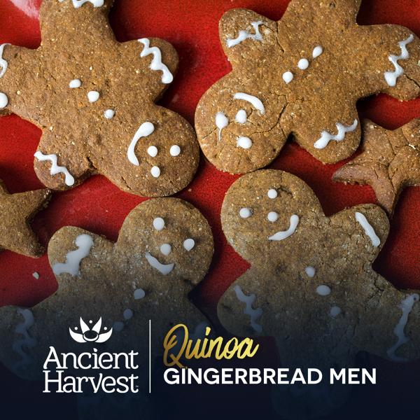 Recipe: Gluten-Free Vegan Quinoa Gingerbread Men