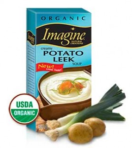 Review: Imagine Foods Potato Leek Soup - Celiac Disease