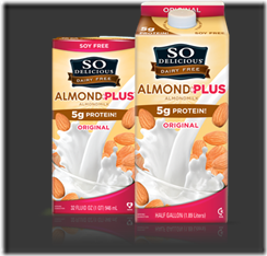 So Delicious Almond Plus - Celiac Disease