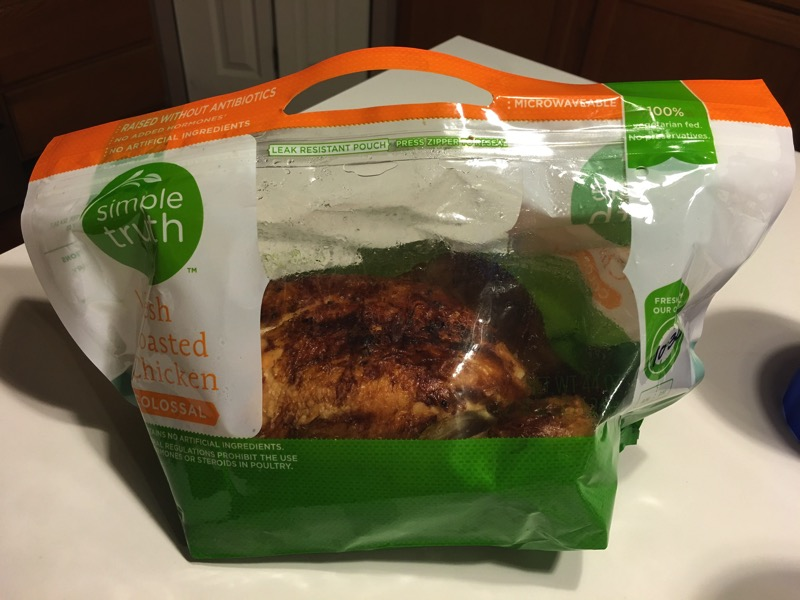 Review Simple Truth Fresh Roasted Chicken Celiac Disease